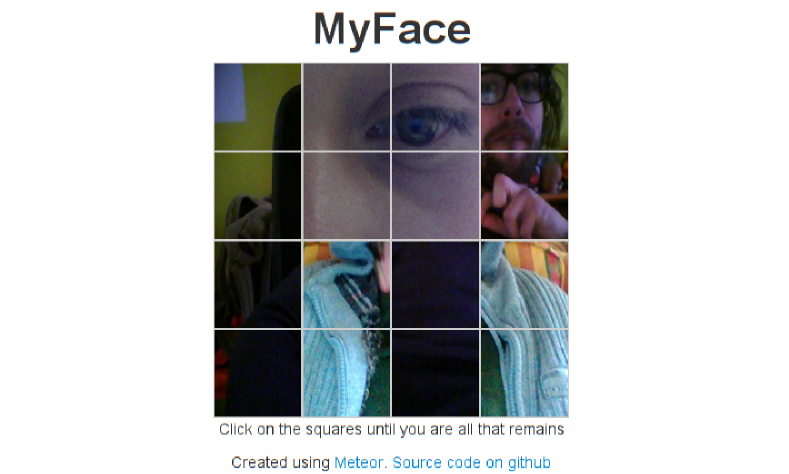 MyFace screenshot